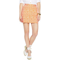 Stretch Cotton Pique Printed Skirt | Dresses & Skirts | Clothing | Categories | C. Wonder