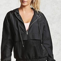Active Hooded Mesh Anorak