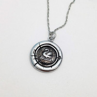 Once Upon A Time TV Series Emma's Swan Necklace