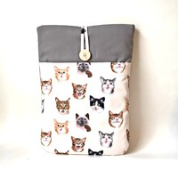 Cat MacBook Pro 13 Sleeve, Cat MacBook Pro Retina Case, MacBook Pro 13 .3 inch Sleeve Cat MacBook Air Sleeve Kitten Laptop Computer Bag - Edit Listing - Etsy