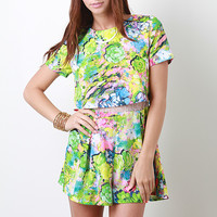 Colors Of Spring Romper