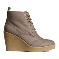 H&M - Wedge-heeled Boots