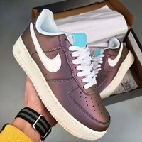 Nike Air Force 1'07 Lv80 Trending Casual Running Sport Shoes Sneakers Shoes Purple G-PSXY