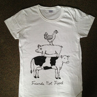 Friend Not Food Vegan/Vegetarian T-shirt