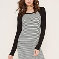 Striped Baseball Dress | Forever 21 - 2000204756
