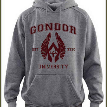 gondor university custom crewneck hoodie for unisex