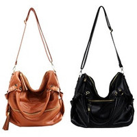 Unique Leather Handbag Cross Body Shoulder Bag [7688476998]