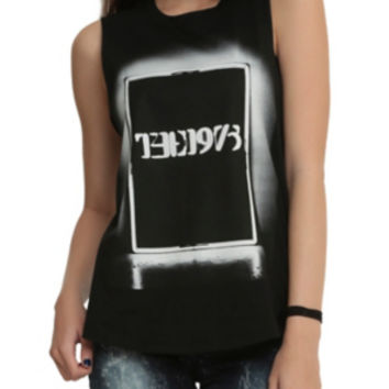 The 1975 Light Box Girls Muscle Top