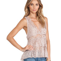 Hollow Out Lace Tank Top 10718