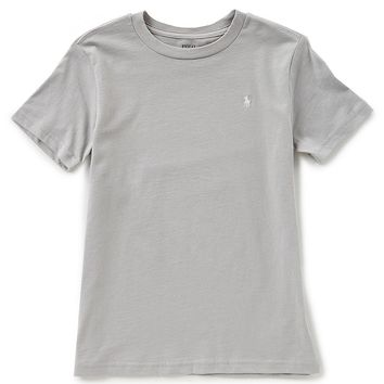 Ralph Lauren Childrenswear Little Boys 2T-7 Solid Crew Neck Short-Sleeve Tee | Dillards