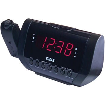 Naxa Projection Dual Alarm Clock