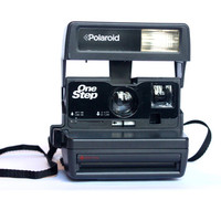 TESTED Polaroid One Step 600 Camera | Working Instant Film Photography Vintage Retro