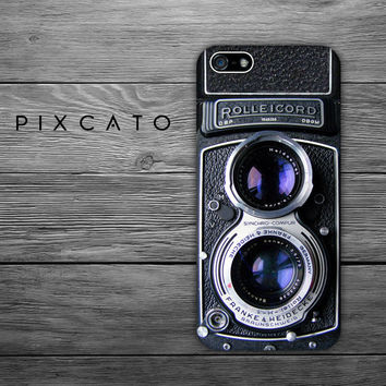 Rolleicord Camera, Vintage Photo Camera - Iphone Case, Hard Plastic, FREE Shipping Worldwide