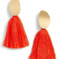 Madewell Curved Tassel Earrings | Nordstrom