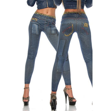 T2378 Free shipping hot selling jeggings jeans for women with onyeah brand fashion womens leggins 2014 sexy jeans leggings