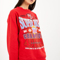 Vintage San Francisco 49ers Superbowl Sweatshirt