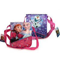 Disney Frozen Deluxe Flip the Flap Anna, Elsa and Olaf Purse