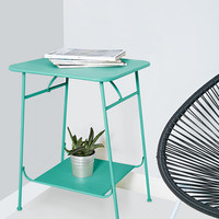 Factory Side Table in Teal - Urban Outfitters
