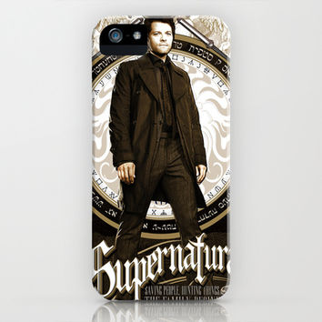 Supernatural Castiel iPhone & iPod Case by House of H