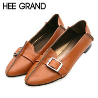 HEE GRAND Ballet Flats Casual Shoes Woman Summer Style Loafers Spring  Pointed Toe Women Flat Shoes Slip On Oxfords XWD3494