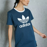 Adidas Women Blue T-shirt Dress
