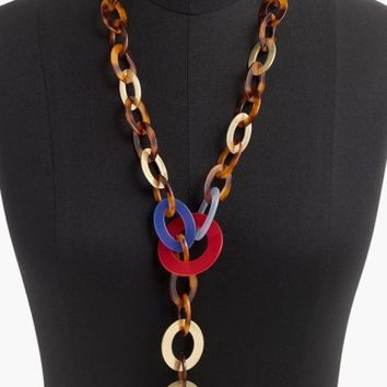 J.Crew Chunky Abba Chain Necklace | Nordstrom