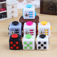 Fidget Cube Toys Relieve Stress Magic Cube Anti Lrritability&Nervous&tense Desk Bauble