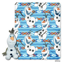 Disney's Frozen Olaf  with Throw Combo