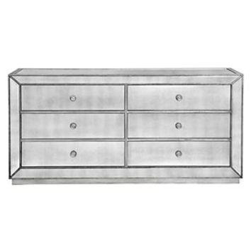 Omni Mirrored 6 Drawer Chest | Regal Romance | Dining Room | Inspiration | Z Gallerie