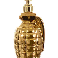 Germicidal Maniac Hand Grenade Soap Dispenser