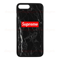 Supreme Black Marble Custom For iPhone 6/6s,For 6/6sPlus and for iPhone 7,7 plus