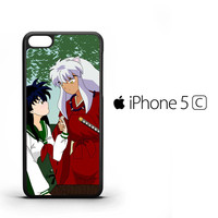inuyasha and kagome sweet moments Z1544 iPhone 5C Case