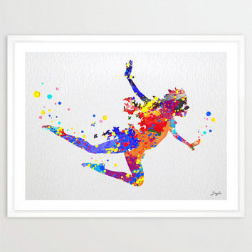Peter Pan Watercolor Art Print,Wall Art Poster,Boy/Girl Room Decor Art,Disney Spirit,Kids Art,Nursery Art Print,Birthday/Wedding Gift,No 35