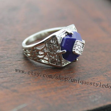 Caroline ring the Vampire Diaries jewelry by uniquestyledo on Etsy
