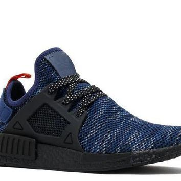 DCCKUN7 Ready Stock Adidas Nmd Xr1 Jd Sports Navy Black Red Sport Running Shoes