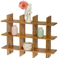 On the Grid Shelf | Mod Retro Vintage Decor Accessories | ModCloth.com