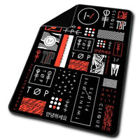 Twenty One Pilots Icons Blanket