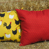 Country Cotton Farm Pillows