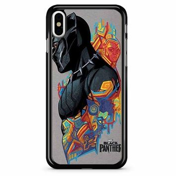 Black Panther 3 iPhone X Case