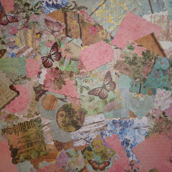 150+ Piece - Embellishments, Scrapbooking, Journaling, Smash Book, Card Making, Projects, Tags