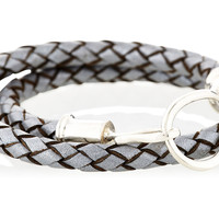 Silver Leather Bracelet, Other Necklaces