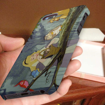 sleeping beauty 3D Phone Case for iPhone 4,iPhone 4s,iPhone 5,iPhone 5s,iPhone 5c,Samsung Galaxy s3,samsung Galaxy s4