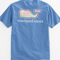 Vineyard Vines - Palm Trees Whale Pocket Tee