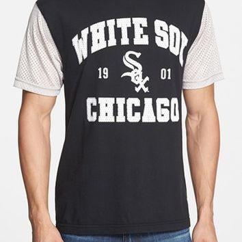 Men's Wright & Ditson 'Chicago White Sox - Gym Class' Mesh Sleeve T-Shirt,