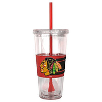 NHL Chicago Blackhawks Hype Straw Tumbler, 22-ounce
