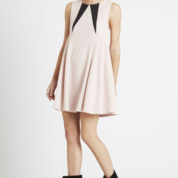 BCBGeneration Rose Smoke Cocktail Dress