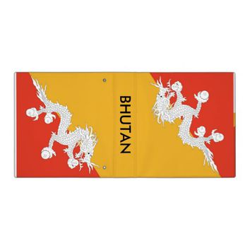 Binder with Flag of Bhutan