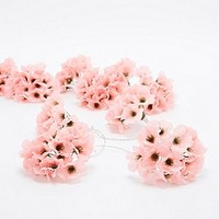 Hydrangea Flower String Lights in Pink - Urban Outfitters