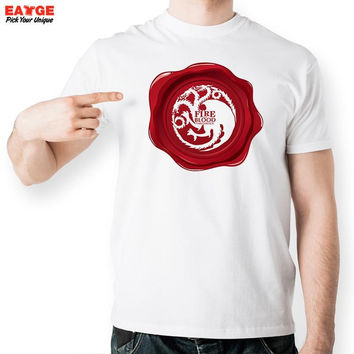 Game Of Thrones T Shirt Stark Lannister Baratheon T-shirt Ayrm Martell Tully Tshirt Greyjoy Tyrell Targaryen A Song Ice Fire Tee