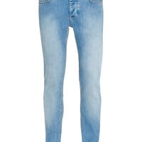 Bleach Wash Spray On Skinny Jeans - Men's Jeans - Clothing - TOPMAN